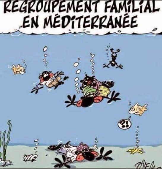 Charlie Hebdo makes mockery of African migrants who died in the Mediterranean?