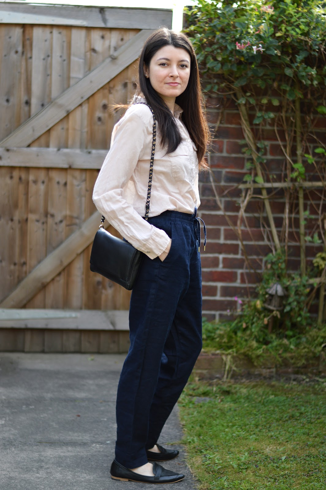 H&M Linen Trousers