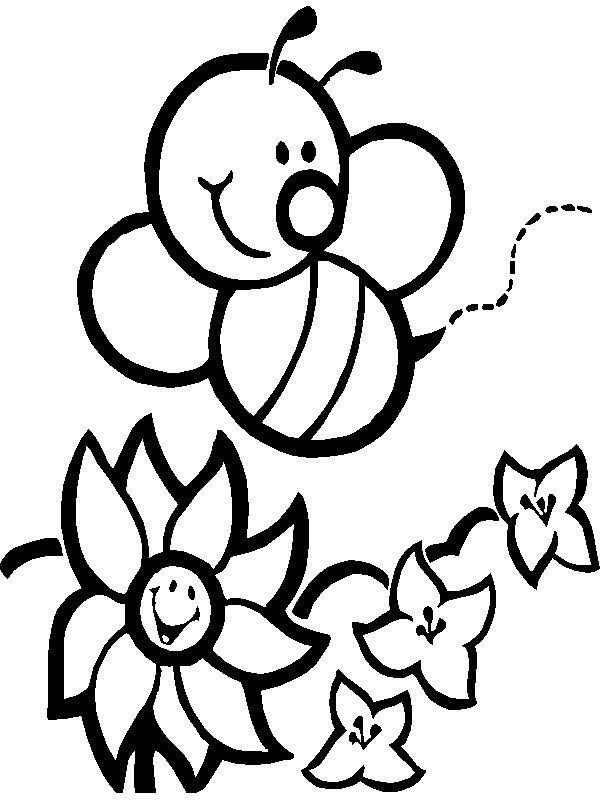 Desenhos Para Pintar E Imprimir Desenhos De Insetos Para Colorir