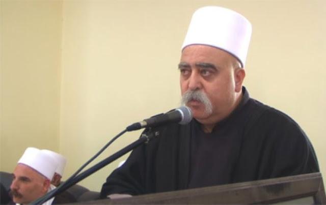 الشيخ موفق طريف يدعو إلى فتح معبر القنيطرة في الجولان السوري المحتل