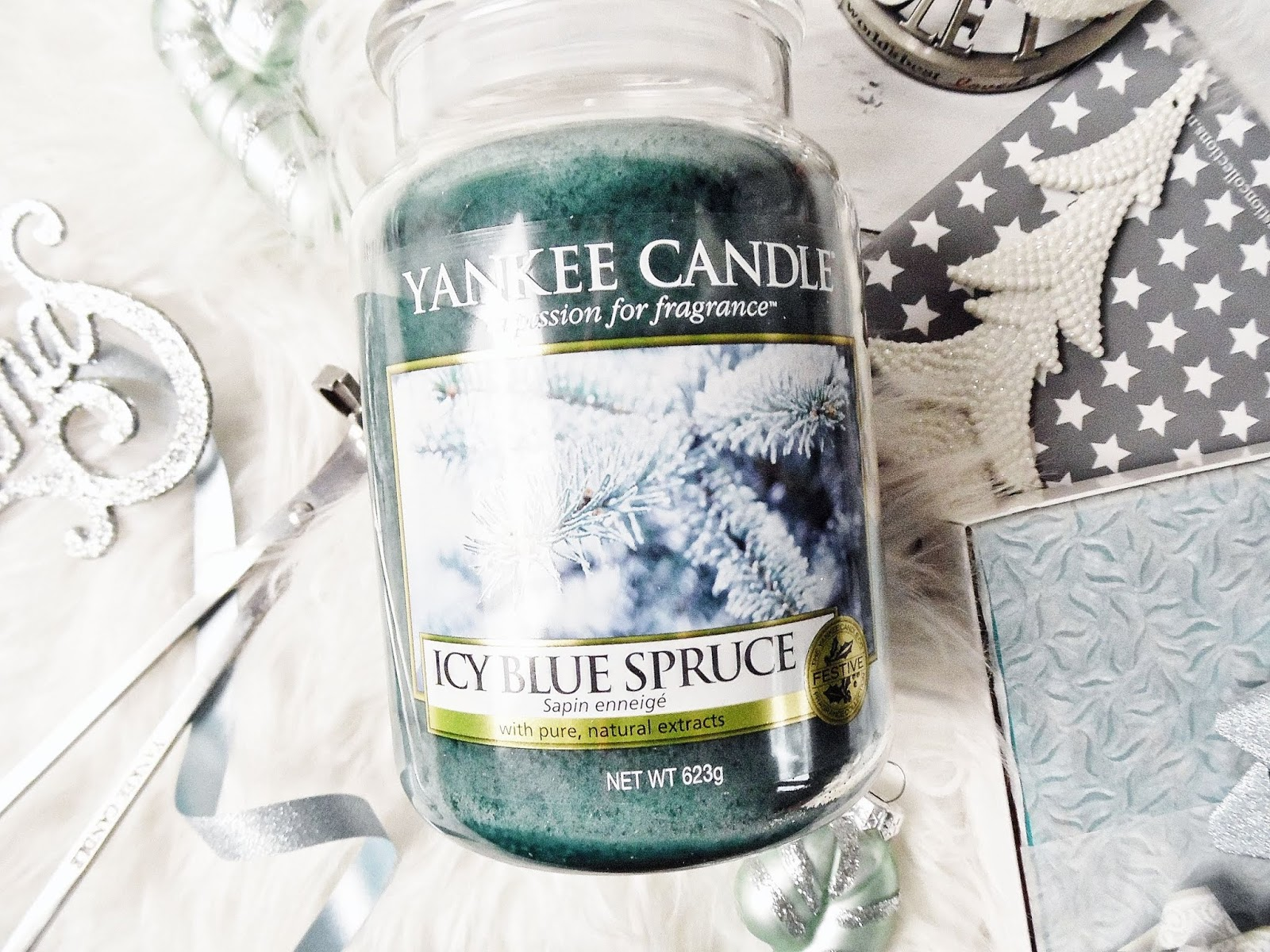 icy blue spruce yankee candle q4 holiday sparkle