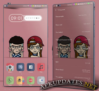 Themes MIUI SuperMII Material v1 New Version For Xiaomi