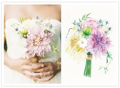 7 Inspirações para o Bouquet!