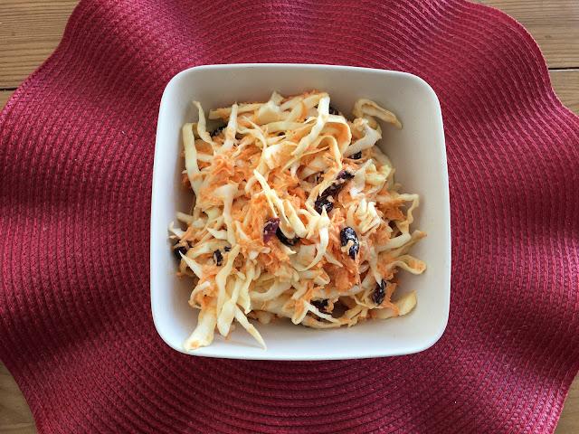 Ensalada de Col con Zanahoria