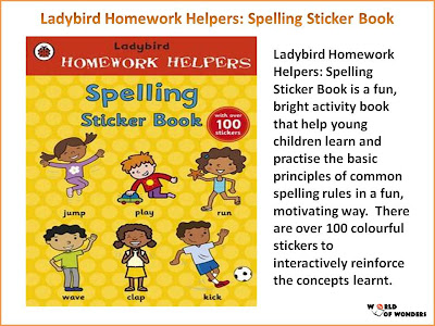 Ladybird homework helpers set