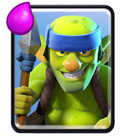 Kartu Spear Goblins Clash Royale