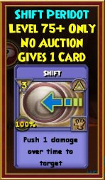 Shift - Wizard101 Card-Giving Jewel Guide