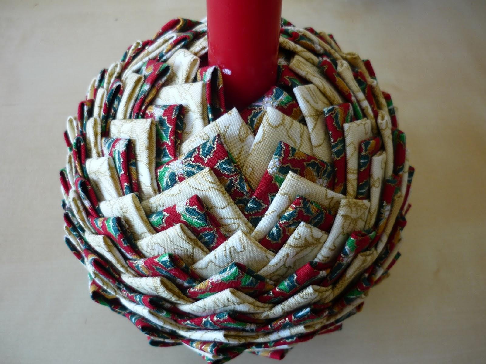 Coser y coser patchwork tutorial pi a navide a for Manualidades navidad con pinas
