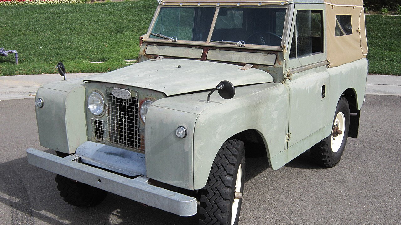 Secret Car Clubber: 1965 Land Rover Series II