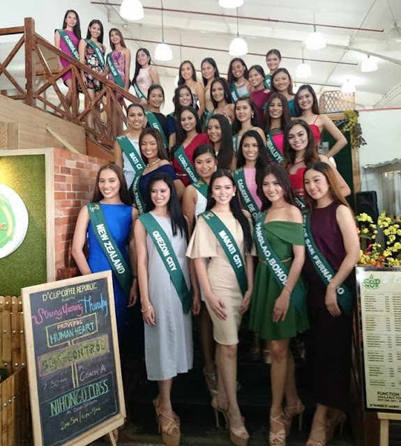 Miss Philippines Earth 2017 Candidates Media Day
