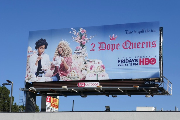 2 Dope Queens season 2 billboard