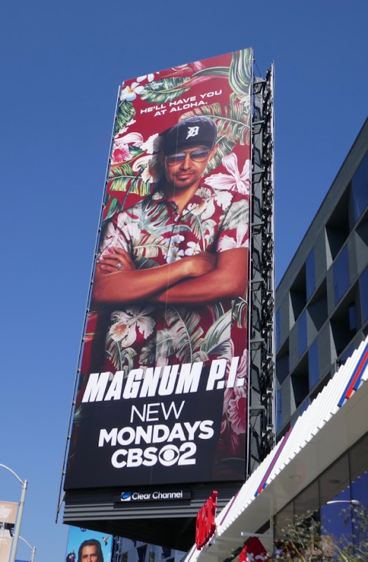 Magnum PI 2018 series billboard