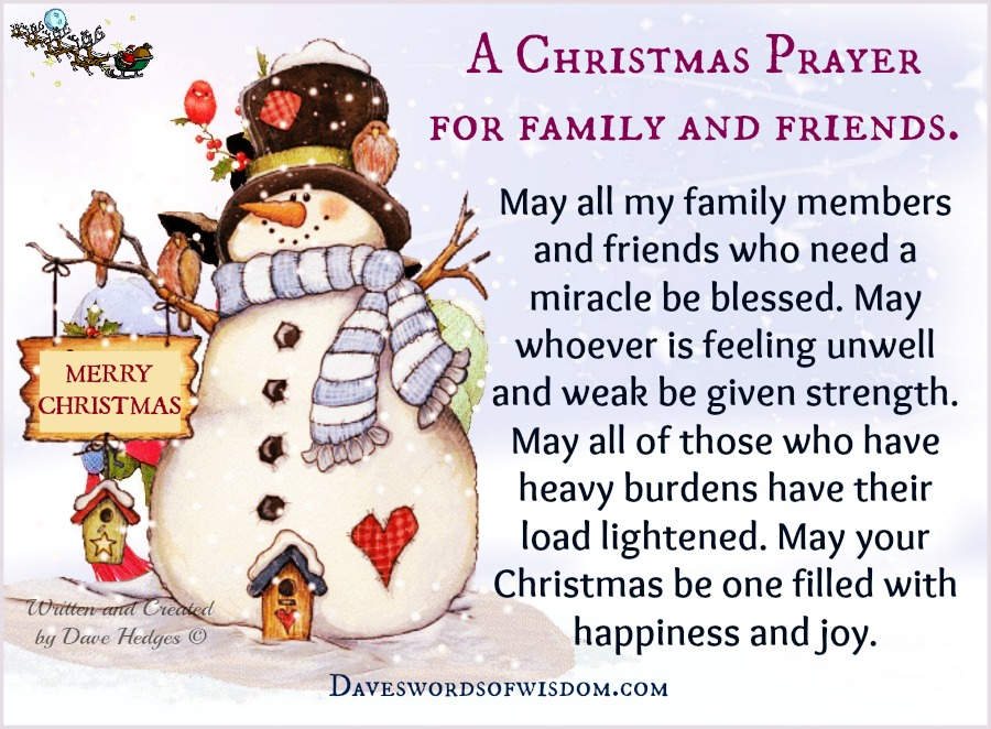 May All My Family Members And Friends Who Need A Miracle Be Blessed. May  Whoever Is Feeling Unwell And Weak Be Given Strength.