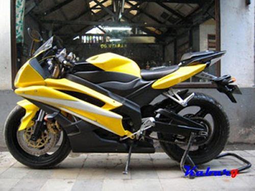 Kumpulan Gambar Modifikasi Motor Yamaha New Vixion Terbaru 2017
