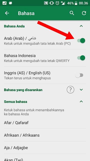 Cara Mengirim Tulisan Arab di WhatsApp