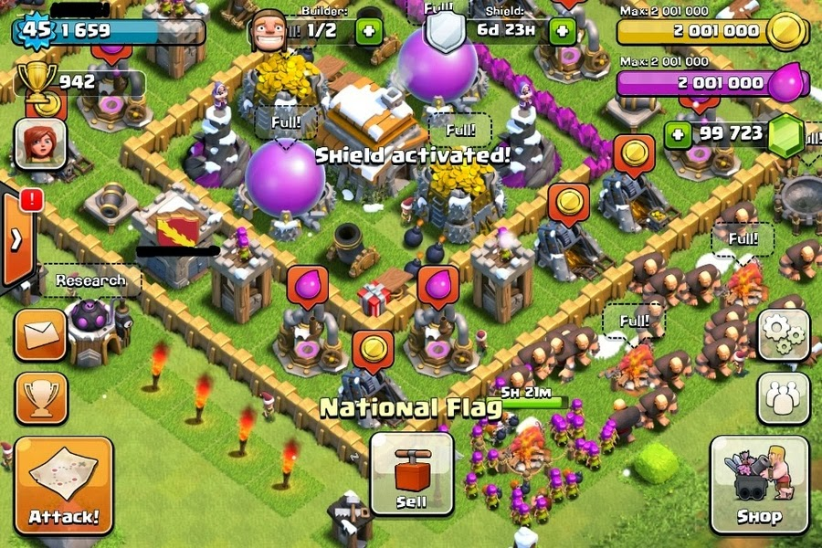 Free Hack for Clash of Clan