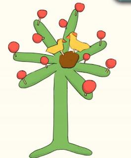 árbol como hacen en Talagante.