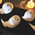 Halloween Ghost Meringue Cookes