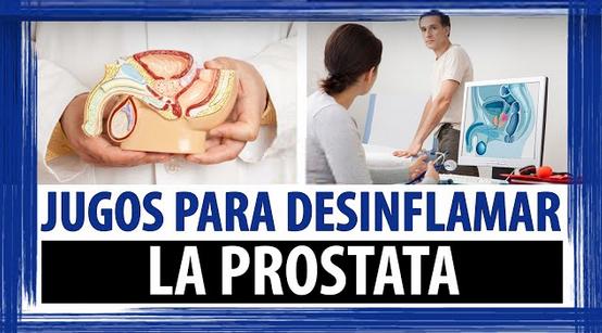 Que jugo sirve para desinflamar la prostata