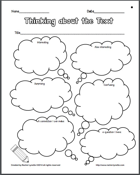 Close Reading Poster And Printables Classroom Freebies