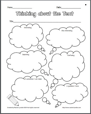 Classroom Freebies: Close Reading Poster and Printables by