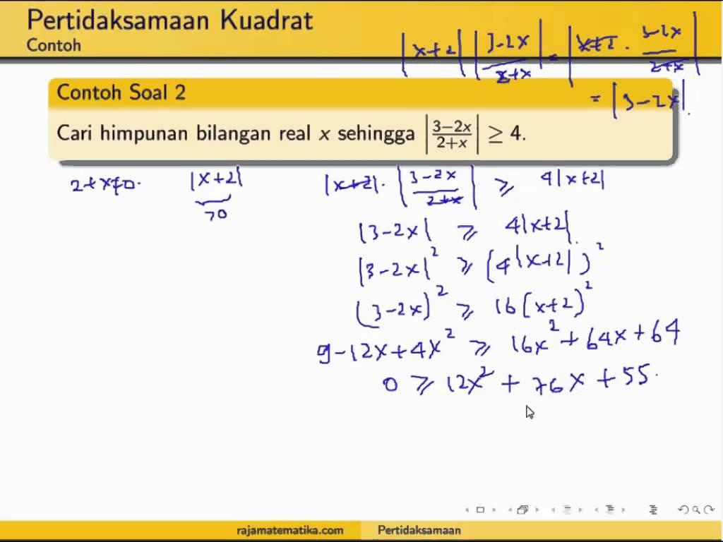 persamaan dan pertidaksamaan nilai mutlak - wood scribd indo