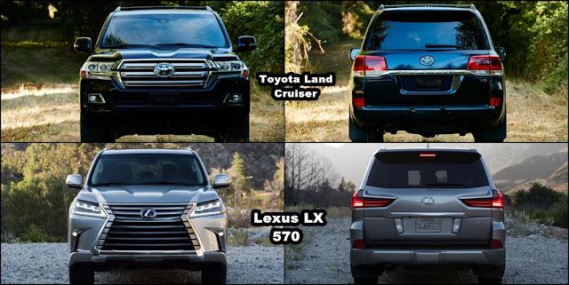2016 Toyota LandCruiser vs 2016 Lexus LX570 duoi xe - Toyota Land Cruiser và Lexus LX570 2016 thế hệ mới : Chọn bền bỉ hay thương hiệu - Muaxegiatot.vn