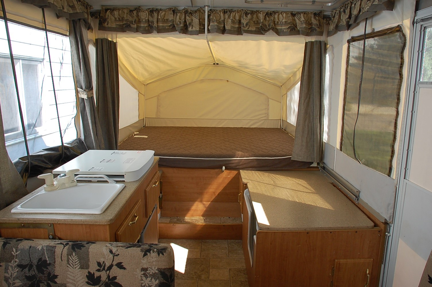 Maybe It S Just Me Pop Up Camper Makeover