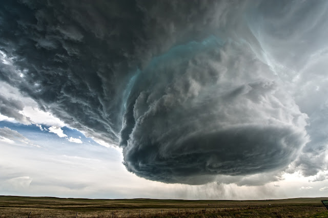 Supercell over Wyoming