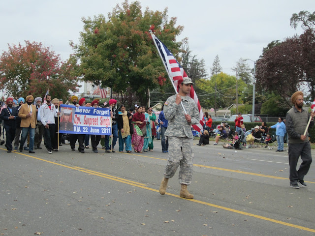 Sikh Veteran Gurpreet Singh honored in Veterans Day parade Elk Grove
