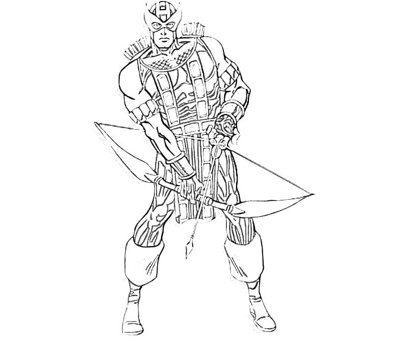 Marvel vs Capcom Hawkeye Character   Yumiko Fujiwara