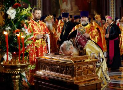 РПЦ: Бизнес на святых мощах