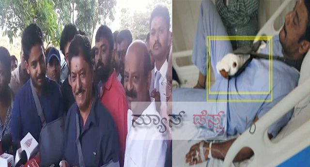 kannada-actor-devaraj-and-his-son-prajwal-discharged-from-hospital