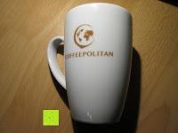 Aufdruck Tasse: Coffeepolitan Premium Geschenkset - Kaffee aus 5 Kontinenten mit Zubereitungsset - grob gemahlen 5 x 9 Portionen (5 x 9 x 7g); ideal auch als Geburtstagsgeschenk oder Probierset