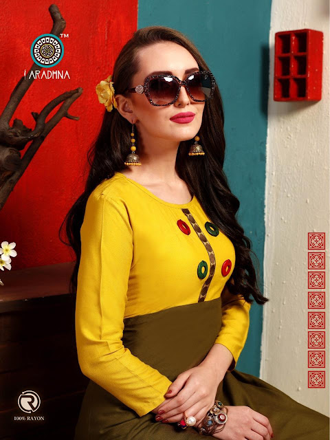 Aradhna lilly Casual wear kurtis Catalog new design