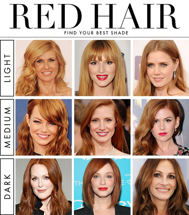 Best Red Hair Color For Cool Skin Tones