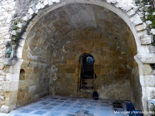 Cripta de San Cebrián, Cueva de Salamanca