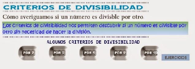 http://www3.gobiernodecanarias.org/medusa/eltanquematematico/todo_mate/multiplosydivisores/divisibilidad/divisibilidad_p.html