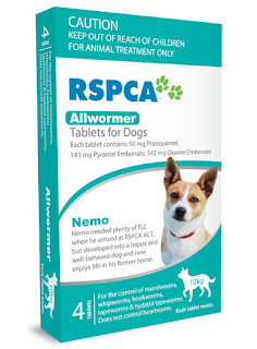RSPCA Allwormer Tablets for Dogs