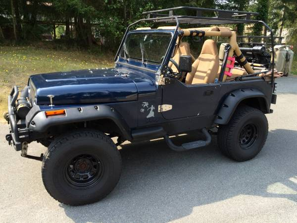1991 Jeep Wrangler Yj 4x4 Lifted Auto Restorationice