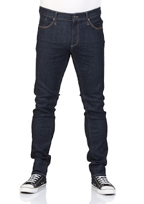 Mavi Herren Jeans James - Skinny Fit - Blau - Rinse Ultra Move