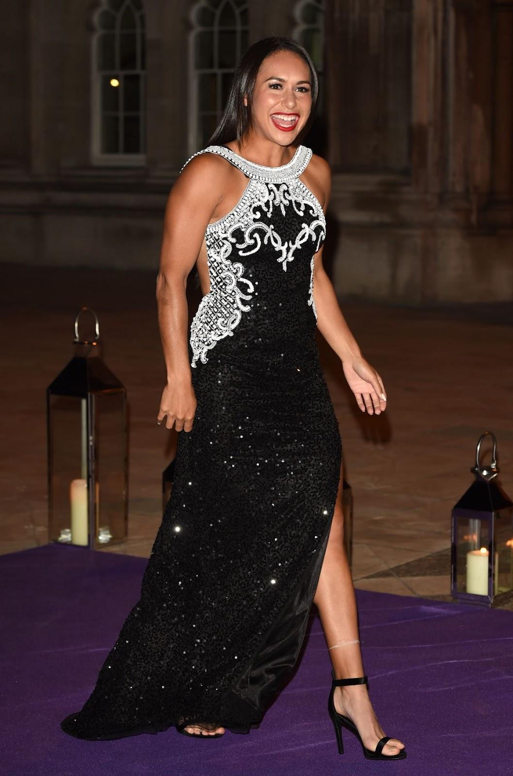 HD Photos of Heather Watson at Wimbledon Champions 2016 Dinner in London