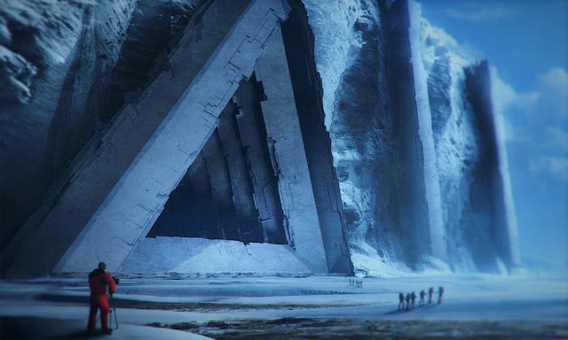 Is this the Big Secret?  Have they found the ruins of an ancient city in Antarctica?