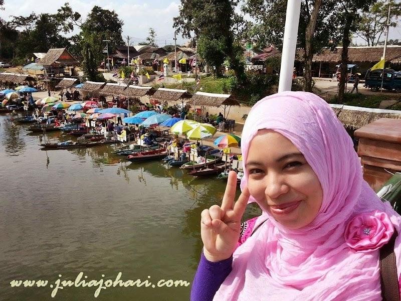 Syurga Makanan di Klonghae Floating Market Hatyai | Part 8