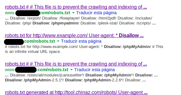 Using Robots.txt To Locate Your Targets