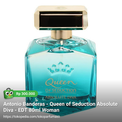 antonio banderas queen of seduction absolute diva edt 80ml woman