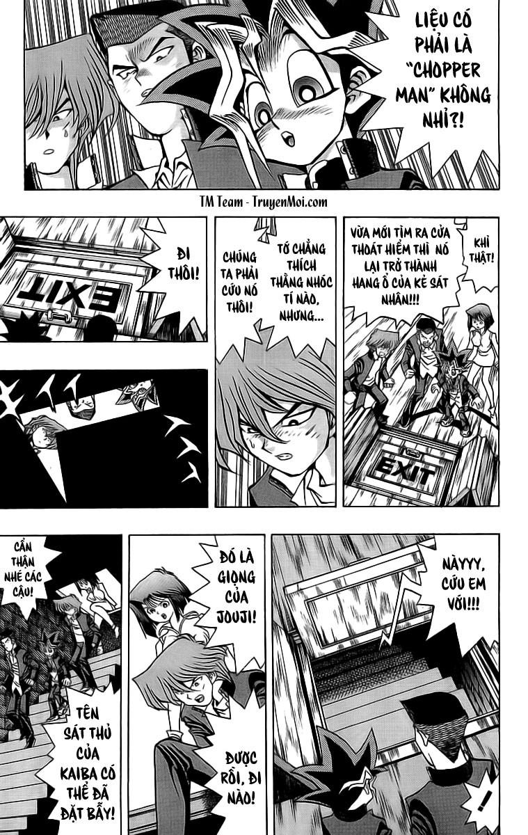 YUGI-OH! chap 32 - trò cưa xích sinh tử trang 3