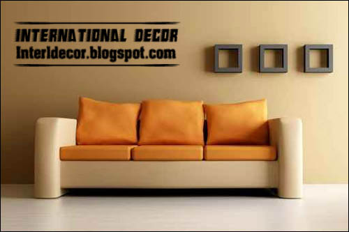 Modern Sofas furniture models with extraordinary colorations 2013 - Modern Sofas Furniture Models With Different Color