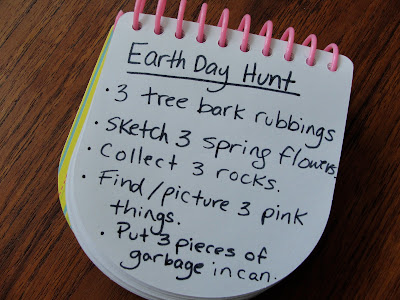 earth day hunt