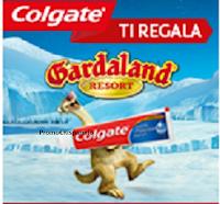 Logo Colgate ti regala Gardaland